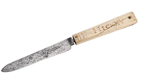 ザテラー-コーネリアス・ヒッキーのナイフ